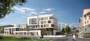 Le futur centre ville de Gex